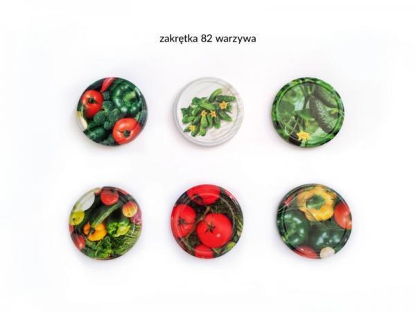 Zakrętka z warzywami